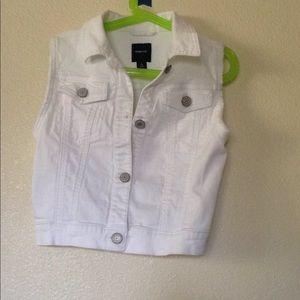 Girl Jean Vest